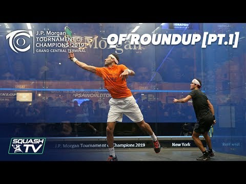 Squash: Tournament of Champions 2019 - Men\'s QF Roundup [Pt.1]
