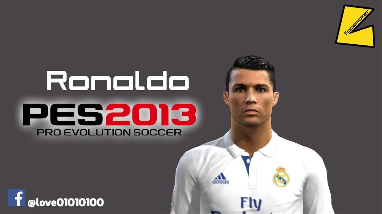 PES Cristiano Ronaldo New Face Hair By Love - New face hair cristiano ronaldo pes 2013