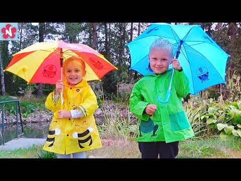 Rain Rain Go Away  Nursery Rhymes Song by Nil and Nelly