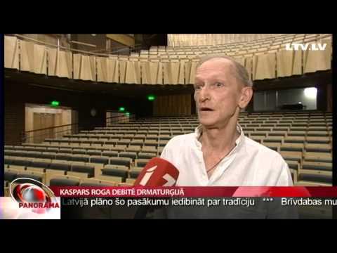 Kaspars Roga debitē drmaturģijā
