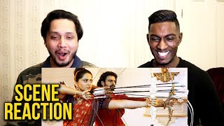 Baahubali 2: The Conclusion | Arrow Fight Scene Reaction | Prabhas, Anushka Shetty | Stageflix