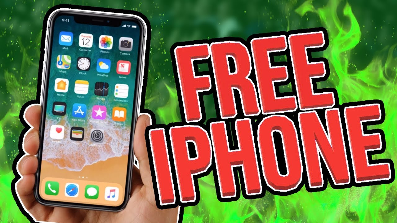 How To Win A Free Iphone X In India  Youtube