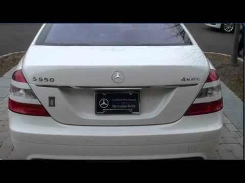 Certified 2007 mercedes benz s550 4matic sport sedan for Mercedes benz doylestown pa