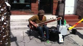 Kensington Market Sunday afternoon street music