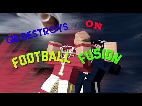 GODLY MOBILE QB DESTROYS ON FOOTBALL FUSION (dimes and lobs)