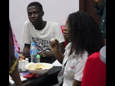 Iyabo Ojo &Mercy Aigbe Daughters Caught Eating Amala At Her Mom's N200million Abula Spot in Lekki