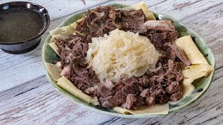 лучшее блюдо для стариков или почему я люблю киргизский бешбармак