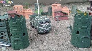 Military base Toys soldiers Toys for children