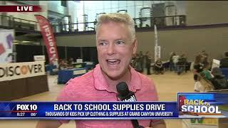 Cory's Corner: Back to school supplies drive