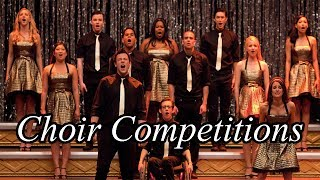 TOP 50 Glee - Songs/Performances Of Choir Competitions