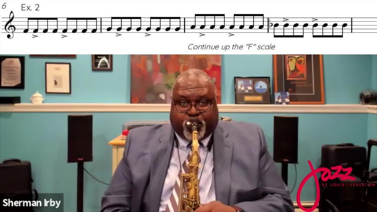 Download Saxophone Masterclass with Sherman Irby