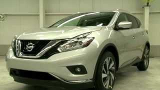 Сборка нового Nissan Murano 2015