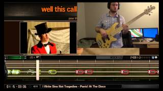 BandFuse Bass - I Write Sins Not Tragedies (1st Try: 97% REAL Difficulty)