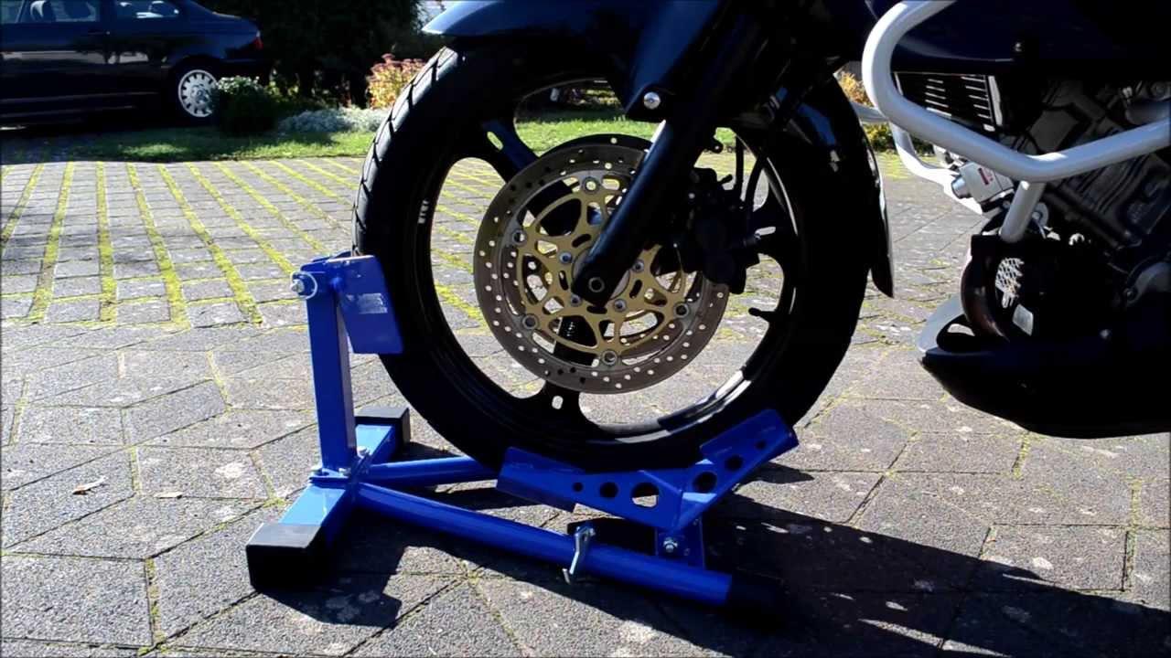 Pro-Lift-Montagetechnik Motorradwippe Radhalter Motorrad Vorderradklemme Radwippe Montagest/änder ES400MHJ 02140