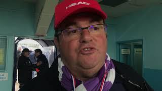 Réaction de Franck Bonnet, entraîneur de Saint-Fraigne