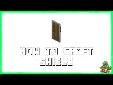 ✔-minecraft-1.15.2:-how-to-craft-shield!-(2020)
