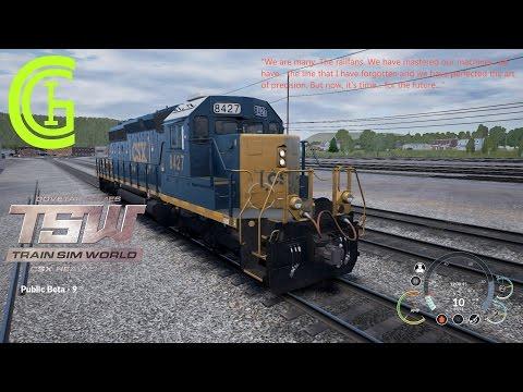 CGI - Episode 3 - Train Sim World: CSX Heavy Haul (Beta)
