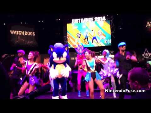 Sonic and Just Dance 2014 at E3 2013