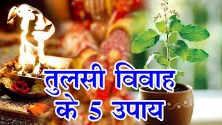 Dev uthani ekadashi 2020 : मनचाहा प्यार चाहिए तो आजमाएं तुलसी विवाह के 5 उपाय