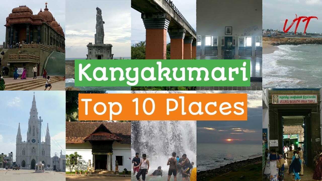 Kanyakumari Top 10 Tourist Places to visit | Top 10 Tourist Places to visit in Kanyakumari