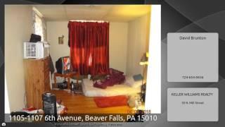 1105-1107 6th Avenue, Beaver Falls, PA 15010