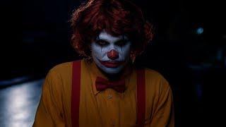 Ночь страшных клоунов в Бургер Кинг на Хэллоуин