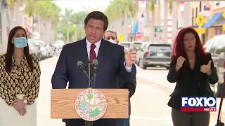 Florida Governor Ron DeSantis press conference regarding COVID-19