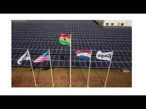KEY ENERGY SECTOR PLAYERS TOUR CARGILL'S 565KWp SOLAR FACILITY- RADIO GHANA