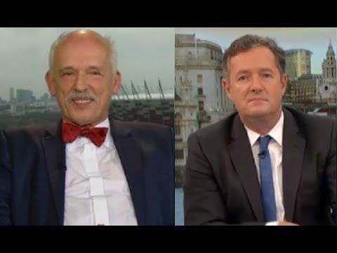 Janusz Korwin-Mikke's Facts vs Piers Morgan's Feelz