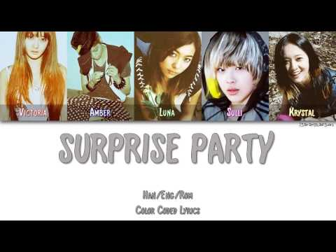 F(X) - SURPRISE PARTY [Color Coded Han|Rom|Eng]