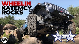 Jeep Gladiator Truck EVO Off Road Katemcy Rocks Texas with Wrangler - NITTO JEEP EXPERIENCE - Part 2