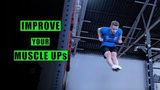8 Exercises to IMPROVE Your MUSCLE-UP - Tabata Workout