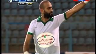 بالفيديو .. المصري يتقدم على الداخلية 2 / 1 في الشوط الأول الإضافي