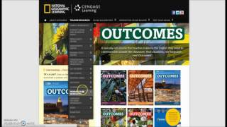 Скачать Outcomes Website Guided Tour NGL Cengage Com Outcomes