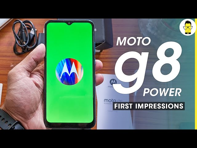 Moto G8 Power Lite Unboxing and First Impression | Moto is back?