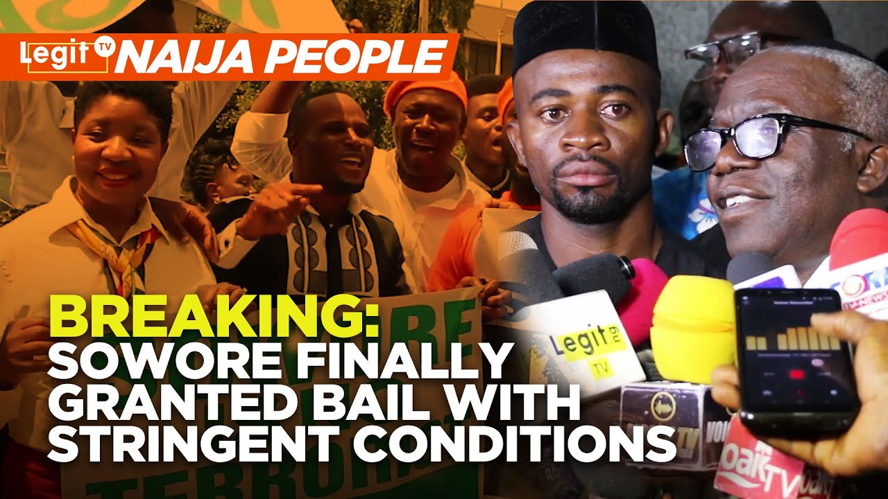 Download Breaking: Sowore finally granted bail with stringent conditions   Legit TV