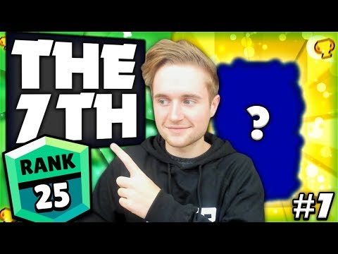 THE 7TH! - The Road To GREEN Iron Man Challenge #7 - Brawl Stars