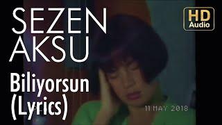 Sezen Aksu - Biliyorsun (Lyrics | Şarkı Sözleri)