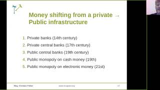 Introduction in sovereign money