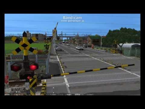 鉄道模型シミュレーター5(ショートムービ編)「踏切」