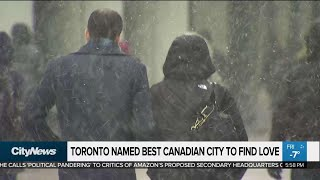 Toronto named best Canadian city to find love