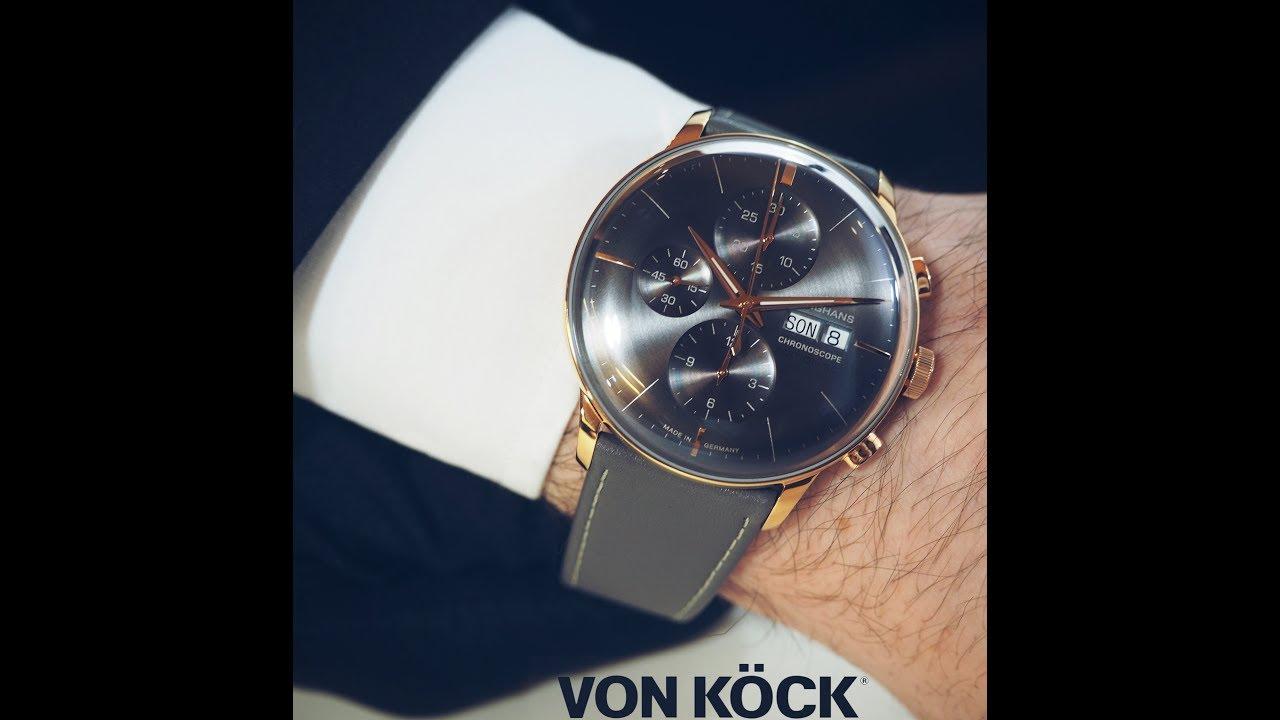 cc1104c89524d Junghans Meister Chronoscope - Köck-Minutes  38 - YouTube