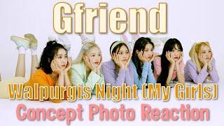 Gfriend (여자친구)   回:Walpurgis Night: My Girls - Concept Photo…
