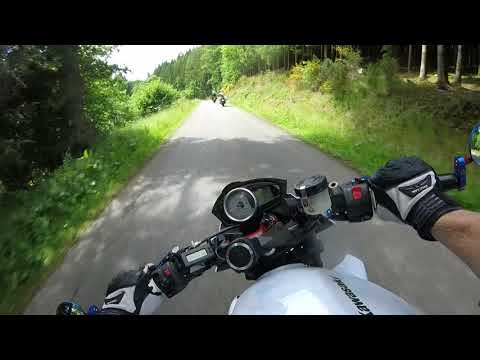 Riding in the Ardennes, Belgium kawasaki z750