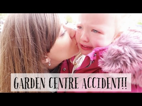 GARDEN CENTRE ACCIDENT!!