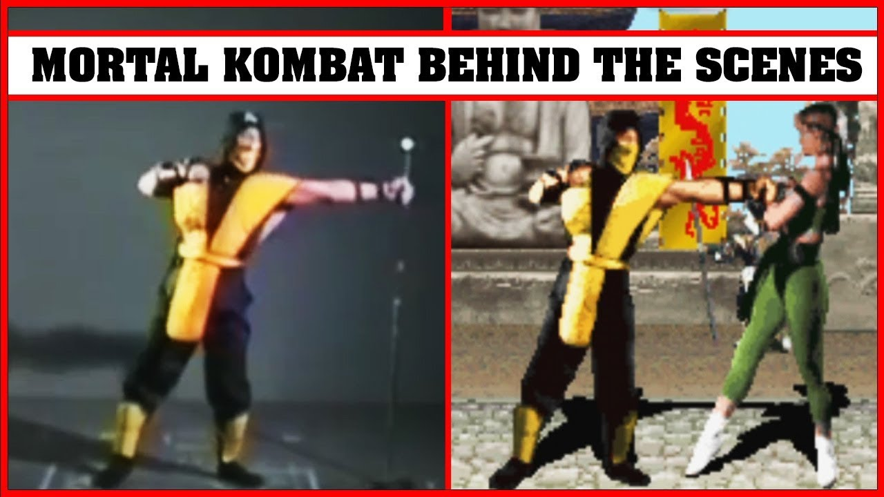 Mortal Kombat Real Actors Vs In Game Characters Youtube