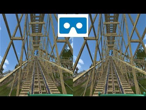 VR 3D Video Roller Coaster 27 3D SBS VR Box Американские Горки для VR очков