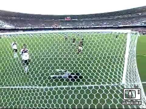 GOL Emoção ADRIANO: Flamengo 2 x 1 Atlético-PR - Rádio Tupi - 4ª rodada Brasileiro 09