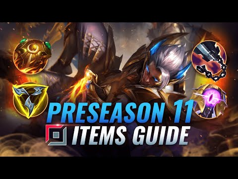 The COMPLETE Top Lane Itemization Guide For PRESEASON 11 - League of Legends