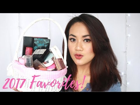 2017 FAVORITES (Makeup, Skincare, Fashion) - Alifah Ratu Saelynda